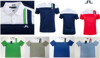 Jl golf clothes Men's short-sleeve T-shirt golf ball fashionable casual sports shirt 5 color S ~XXXL size