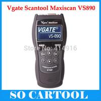 2014 VS890 OBD2 Code Universal VGATE VS890 Diagnostic Scanner Multi-language Auto Scantool Vgate MaxiScan VS890