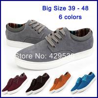 Genuine Leather Big Size 38-48 men's Shoes Casual Sneakers for Man Shoe Tennis Sport Men Casual shoes fashion men's flats RM-106