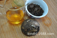 promotion Puer tea raw tea cake 100g pu er cake old leaves puerh tuo good for