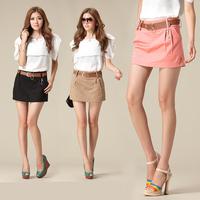 Free shipping autumn 2014 cotton women short hollistic hot-selling elastic mini retro shorts women -casual  0264