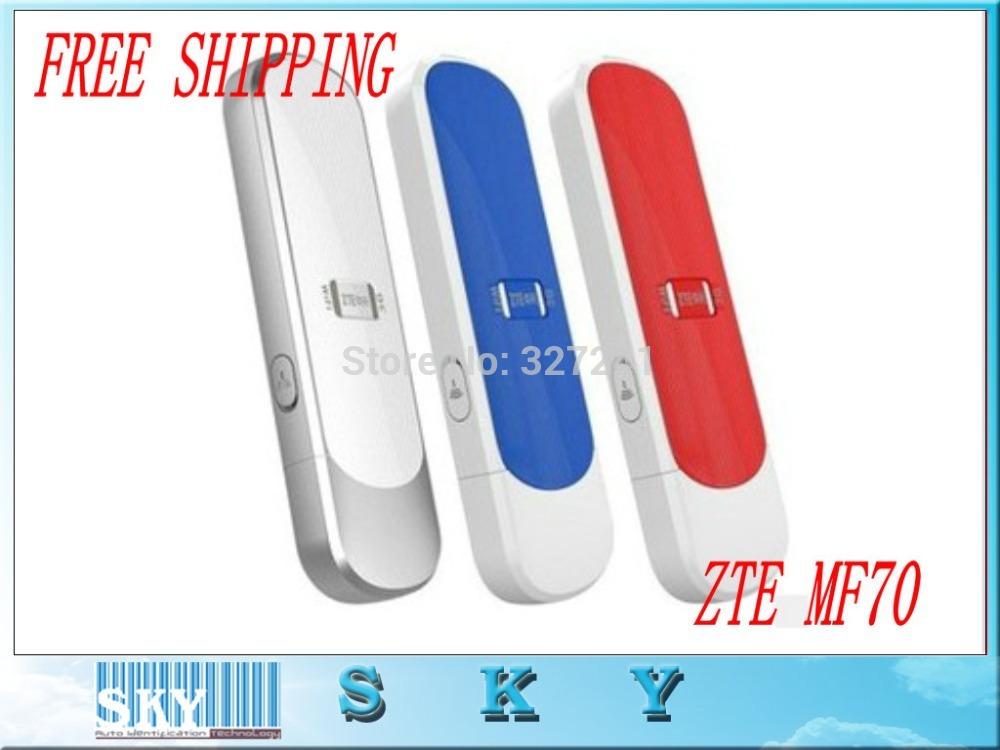 Cheap Original ZTE MF70 3G Modem &Router HSDPA 21Mbps MINI 3G Mobile Hotspot,free shipping(China (Mainland))