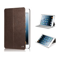 Luxury Flip PU Leather Case for iPad Mini2/1 Smart Case Cover  with Stand Free Shipping