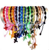 2014 New handmade rope knot cross tail colourful bracelets & bangles women bracelets