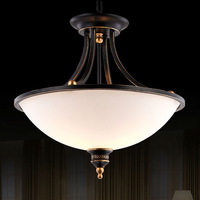 European lustres iron pendant lamp with three lights,YSL8035-3C,Free shipping