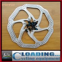 "2 Pcs HS1 Bicycle Brake Disc Block MTB Bike Rotors Brake Pad 160mm 6"" With 12 Bolts BB5/BB7 Braking System Disc Cycling Parts"