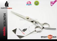 Promotion HUNTERrapoo  6 INCH Professional Barber Scissors Regular Cutting scissors Hairdressing Shears