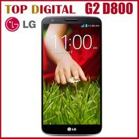 "Original LG G2 D802 D800 F320 Unlocked Mobile Phone Quad Core Android 4.2 13MP 5.2"" IPS 32GB ROM  Phone"