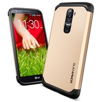High Quality! Spigen Slim Armor High Quality PC + TPU Case For LG G2 Cover Support Wholesale & Drop Shipping AAA03780