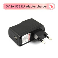Freeshipping 5V 2A USB power adapter charger for tablet  EU Plug Adapters for android Tablet PC