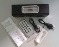 free shipping Multi-function Card Reader Speaker  radio Remote  for iPhone 4 / 4S / 1/2/3G / iPod, Support USB , TF card