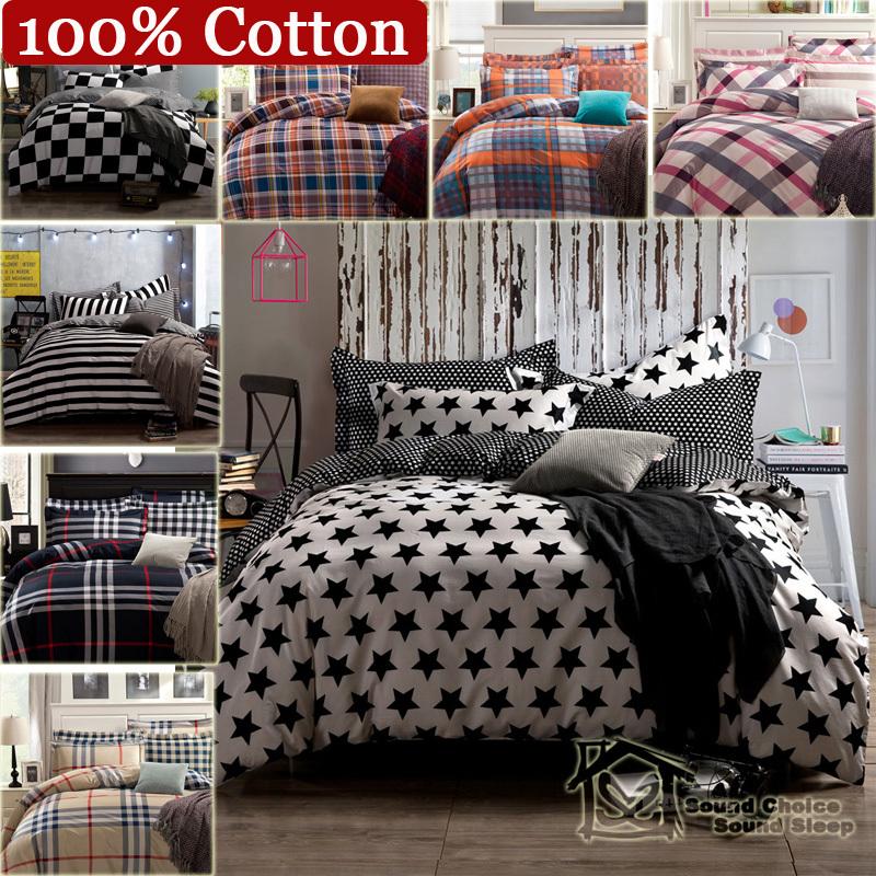 online kaufen gro handel schwarz wei gestreifte bettw sche aus china schwarz wei gestreifte. Black Bedroom Furniture Sets. Home Design Ideas