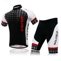 2014 Wolfbike Team Ciclismo Cycling Shorts Men Cycling Jersey Bicycle MTB Sportswear Suit Mountain Bike Clothing Set