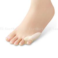 1pair of 2pcs Last Toe Separator Stretchers Straighteners Alignment Bunion Toe Gel Pain relief