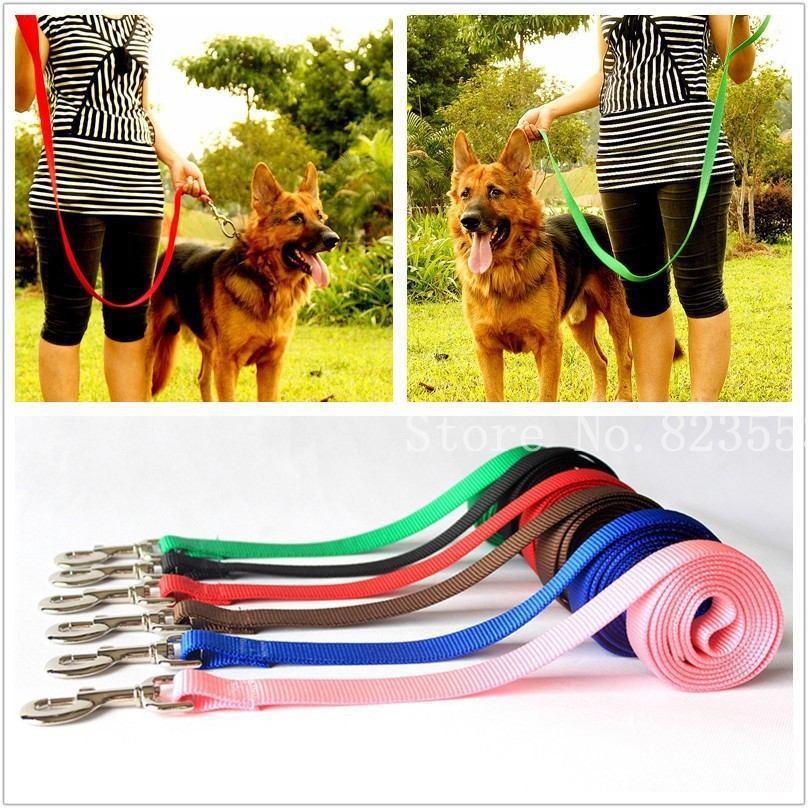 Pet Dog Leash Harness Rope Training Lead Chain rope Nylon woven unibody harness(China (Mainland))