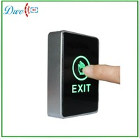 two color LED light Infrared Access Control  touch exit  button no nc push button switch