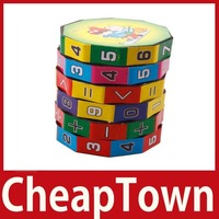 CheapTown New Children Kids Mathematics Numbers Magic Cube Toy Puzzle Game Gift Save up to 50%