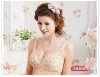 Wholesale Big Luxury New  Butterfly Nursing Bra Anti Sagging Pregnant Bras Pushup Big Lacry Underwear XY6613B Free Shipping