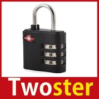 Twoster TSA Suitcase Combination Lock Travel Luggage Padlock 3 Save up to 50%