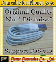 original quanlity  Usb Data cable for iphone 5 5s 5c for ipad min Original cable for ipad 4 5 free shipping