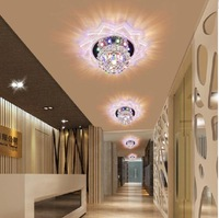 new 2014 3W modern led ceiling lights for living room corridor acrylic hallway lamp AC200-240V free shipping
