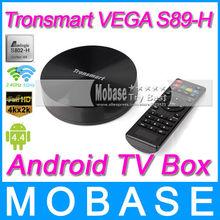 Tronsmart Vega S89-H Android TV Box Amlogic S802-H Quad Core 2GHz 2.4G/5G Dual Band WiFi 2G/16G Mali450 GPU 4K*2K HDMI Receiver(China (Mainland))