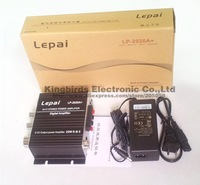 with 12V5A power supply NEW Lepai LP-2020A+ Class-T Hi-Fi Audio Amplifier Output 20WX2 Stereo Amp for home pc car  IC TA2020-020