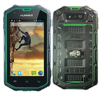 Hummer H5 Waterproof IP68 military smartphone 4.0inch screen android 4.2 dual core MTK6572A 512M 4G dual card dual standby phone