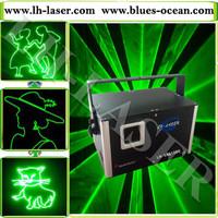 30kpps ILDA 1W Green laser light/dj light /concert laser light/ sd card laser light