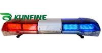 2014 High quality Warning lightbar LED police light bar and  Speaker( optional) DC 12V Emergency strobe warning light KF1800