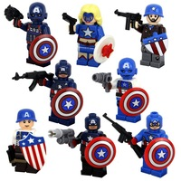Classic Toys SY169 Super Heroes Star Wars Captain America Building Bricks Legoland Block Sets Minifiugres Compatible With Legao