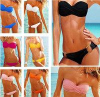 Free shipping Sexy swimwear bikini swimwear suit swimsuit  10 colors