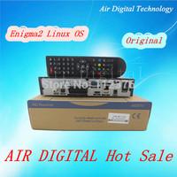 Low cost 5pcs Original cloud ibox 2 plus enigma2 HD Based DVB-S2 HBBTV Smart Linux  TV Box satellite receiver