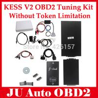 2014 High Quality V2.06 KESS V2 OBD2 Manager Tuning Kit NoToken Limitation Kess V2 Master With DHL Shipping