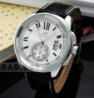 Free Shipping 2014 New Fashion Mens Stylish Multi Automatic Self-wind Wrist Watch Date Men Casual Wristwatch 3 Colors