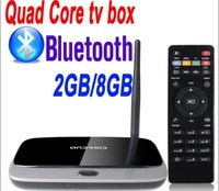 Perfect support XBMC Q77 918S MK888 Bluetooth quad core android tv box Android 4.2.2 RK3188 Cortex A9 2GB 8GB