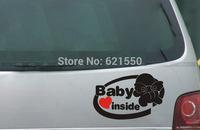 Pioneered&Top New Rear Door Reflective Car Stickers,Car Styling Baby in Car Waterproof Reflective Stickers Warning Sticker Vinyl