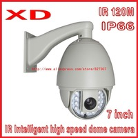 1/3``SONY CCD 700TVL 36X optical zoom IR projection distance 120~150m  IR PTZ high speed dome security camera  Speed Dome