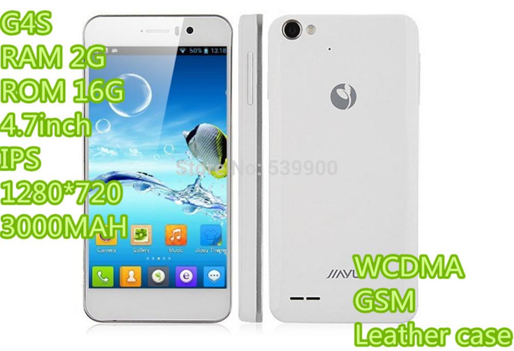 Em estoque Jiayu G4S Octa telefone G4C G4 celular 4.7inch IPS 1280 * 720 2GB RAM + 16GB ROM 3000mAh MT6592 Octa core 1.7GHz 13MP WCDMA(China (Mainland))