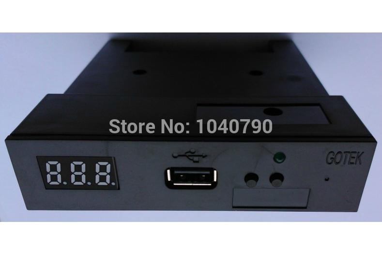 "New Version SFR1M44-U100K Black 3.5"" 1.44MB USB SSD FLOPPY DRIVE EMULATOR for YAMAHA KORG ROLAND Electronic keyboard GOTEK(China (Mainland))"