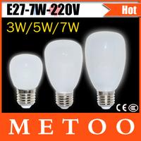 New Arrival Glass Case LED bulbs E27 220V 3W 5W 7W LED lamps e27 highlight SMD 2835 led wall light Foxanon Brand Dropshipping