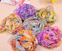 RADSS0057 fashion silk scarf desigual shawl echarpes 2014 fashion women summer spring brand scarf 6 colors Retail high quality
