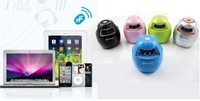 1pcs Mini Bluetooth speaker with hands-free calling function black white pink blue green for option free shipping