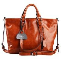 VEEVAN genuine leather women handbag fashion women's shoulder bags 2014 new women bag elegant tote bag in women's messenger bag