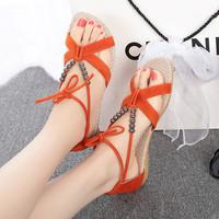 2014 Summer Fashion Slippers Women Sandals Flops Flat Shoes Open Toe Women Wedges Sandals Women's Sandals size 35-40