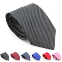 8cm  new 2014  man tie polyester tie for men necktie casual dress  stripe man brand neck ties men accessories  free shipping