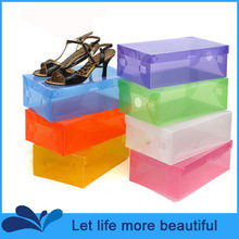 wholesale clear shoe box