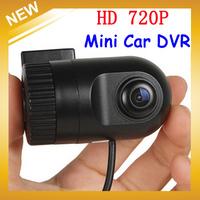 Smallest HD 720P H.264 Mini Car DVR Video Recorder Video Recorder Camcorder Small Vehicle Dash Camera with G-Sensor,FreeShipping