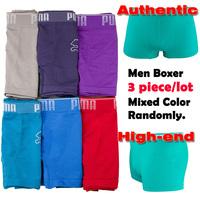 Authentic famous branded men boxers Microfiber Original Best quality boxer shorts men's underwear Factory outlets wholesale 3pcs