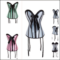 New Arrival Gothic Steampunk Corselet Sexy Women Waist Training Corsets And Bustiers Plus Size 6XL Overbust Corsets Free Ship